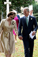 File photo - Tony & Cherie Blair potentially was target of a terror attack