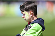 Face painted FGR supporter during the EFL Sky Bet League 2 match between Forest Green Rovers and Exeter City at the New Lawn, Forest Green, United Kingdom on 4 May 2019.