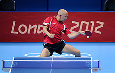 20120728 Olympics London 2012, Tabletennis, Allan Bentsen