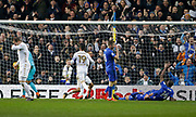 Own goal scored by Cardiff City defender Souleymane Bamba (14) during the EFL Sky Bet Championship match between Leeds United and Cardiff City at Elland Road, Leeds, England on 3 February 2018. Picture by Paul Thompson.