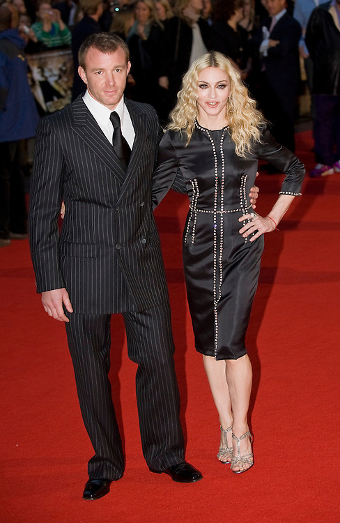 London Sep1st Madonna attends in Leicester Square the world premiere of the movie Rocknrolla by Guy Ritchie