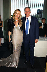 BARON THIERRY VAN ZUYLEN and SABINA MCTAGGART at the Fortune Forum Dinner held at Old Billingsgate, 1 Old Billingsgate Walk, 16 Lower Thames Street, London EC3R 6DX<br />