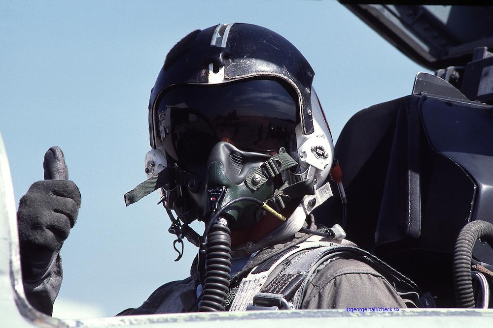 F-5 TOPGUN pilot.  Released.
