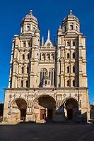 France, Côte-d'Or (21), Paysage culturel des climats de Bourgogne classés Patrimoine Mondial de l'UNESCO, Dijon, l'église Saint-Michel // France, Burgundy, Côte-d'Or, Dijon, Unesco world heritage site, Saint Michel church