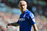 Birmingham City's David Cotterill during the Sky Bet Championship match between Bournemouth and Birmingham City at the Goldsands Stadium, Bournemouth, England on 6 April 2015. Photo by Mark Davies.