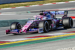 February 26, 2019 - Barcelona, Catalonia, Spain - Lance Stroll Racing Point UK during F1 test celebrated at Circuit of Barcelona 26th February 2019 in Barcelona, Spain. (Credit Image: © Mikel Trigueros/NurPhoto via ZUMA Press)