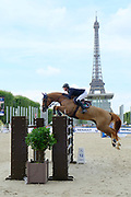Ben Maher riding Don Vito during the Longines Paris Eiffel Jumping 2018, on July 5th to 7th, 2018 at the Champ de Mars in Paris, France - Photo Christophe Bricot / ProSportsImages / DPPI