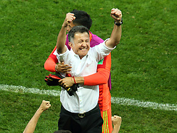June 17, 2018 - Moscow, Russia - June 17, 2018, Russia, Moscow, FIFA World Cup, First round, Group F, Germany vs Mexico at the Luzhniki stadium. uan Carlos Osorio. Head coach of the national team of Mexico Juan Carlos Osorio. (Credit Image: © Russian Look via ZUMA Wire)