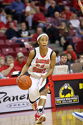 25 November 2007: Tiffany Hudson. The DePaul Blue Demons defeated the Illinois State Redbirds 80-75 on Doug Collins Court at Redbird Arena in Normal Illinois