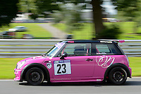 #23 Natalie Norman Mini Cooper 1600 during the CNC Heads Sports & Saloon Car Championship at Oulton Park, Little Budworth, Cheshire, United Kingdom. August 06 2016. World Copyright Peter Taylor/PSP.