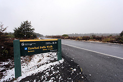 Snow blankets the central plateau causing road closures, National Park, New Zealand, Wednesday, July 12, 2017 , 2017. Credit:SNPA / Cameron Avery **NO ARCHIVING**