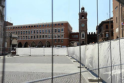 CANTIERE IN PIAZZA DUOMO
