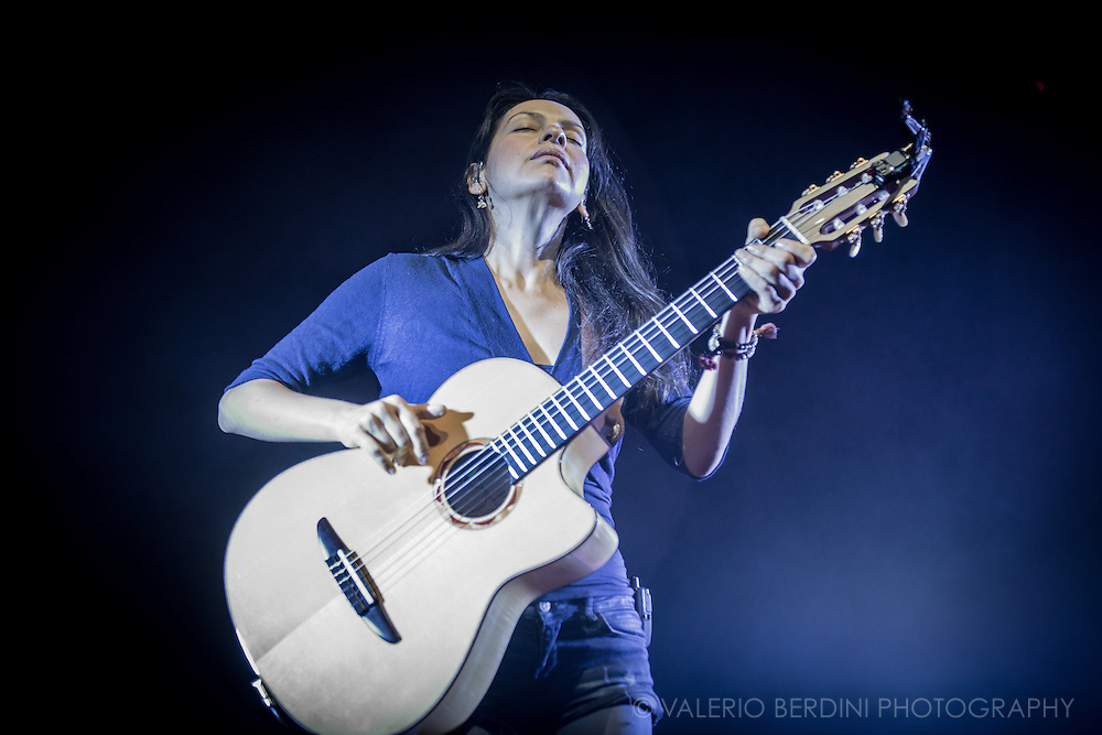 Mexican guitar duo, Rodrigo y Gabriela, playing Cambridge Corn Exchange on 1 December 2014