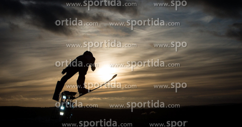 20.02.2015, Lugnet Ski Stadium, Falun, SWE, FIS Weltmeisterschaften Ski Nordisch, Skisprung, Damen, Finale, im Bild Juliane Seyfarth (GER) // during the Ladies Skijumping Final of the FIS Nordic Ski World Championships 2015 at the Lugnet Ski Stadium, Falun, Sweden on 2015/02/20. EXPA Pictures © 2015, PhotoCredit: EXPA/ JFK