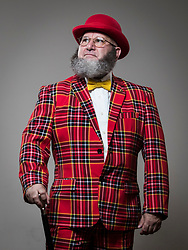 Robert Mevec attends the fourth British Beard and Moustache Championships at the Empress Ballroom, Winter Gardens, Blackpool.