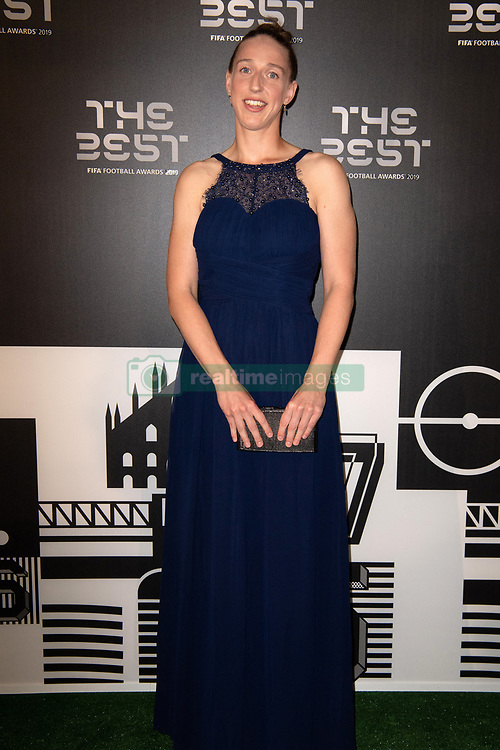 The Best FIFA Women's Goalkeeper Sari van Veenendaal of Nethderlands attends the green carpet prior to The Best FIFA Football Awards 2019 at the Teatro Alla Scala on September 23, 2019 in Milan, Italy. Photo by David Niviere/ABACAPRESS.COM