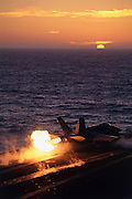 F.A-18C Hornet afterburner takeoff