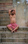 Early Morning - Meditation - The day ahead - Varanasi Ghats