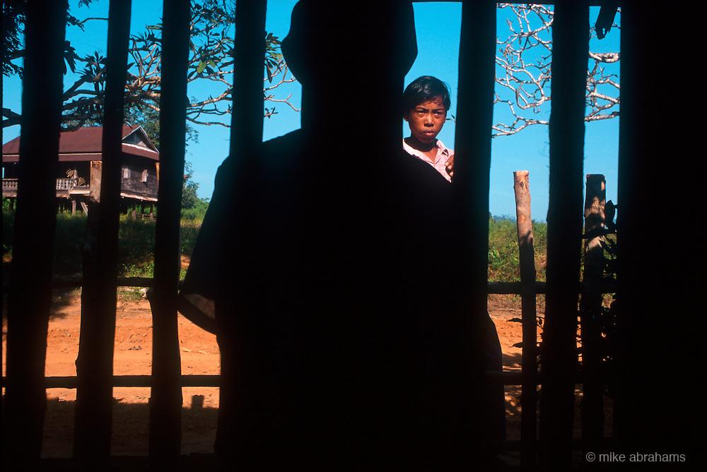 Village in the Tenasserim region of Burma.<br /> 1998