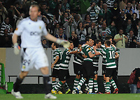 20120329: LISBON, PORTUGAL - Football - UEFA Europe League 2011/2012 - Quarter-finals, First leg: Sporting CP vs Metalist<br />