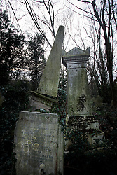 UK ENGLAND LONDON 13MAR06 - Nunhead Cemetery opened in 1840 and is the second largest of London's Victorian cemeteries. The 52-acre area is a tranquil wilderness today, and over four hundred interesting personalities were laid to rest at Nunhead between 1840 and 1998...jre/Photo by Jiri Rezac..© Jiri Rezac 2006..Contact: +44 (0) 7050 110 417.Mobile:  +44 (0) 7801 337 683.Office:  +44 (0) 20 8968 9635..Email:   jiri@jirirezac.com.Web:    www.jirirezac.com..© All images Jiri Rezac 2006 - All rights reserved.