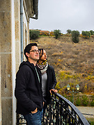 Augustus Miller & Cara de Lavallade strike a regal pose