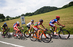 Andrea Vendrame (ITA) of Androni-Sidermec-Bottecchia, Enrico Salvador (ITA) of Tirol Cycling Team, Ivan Santaromita (ITA) of Nippo-Vini Fantini, Bruno Maltar (CRO) of Meridiana Kamen Team during Stage 2 of 24th Tour of Slovenia 2017 / Tour de Slovenie from Ljubljana to Ljubljana (169,9 km) cycling race on June 16, 2017 in Slovenia. Photo by Vid Ponikvar / Sportida