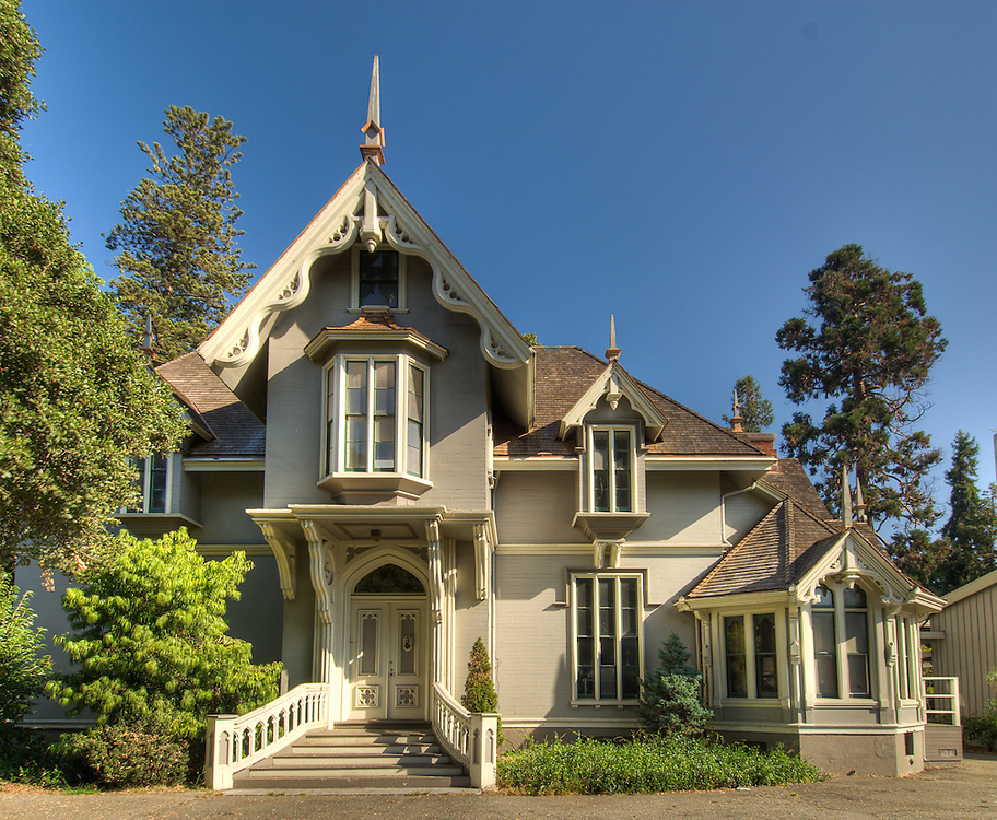 J. Mora Moss House, built in 1864.