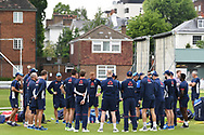 The England squad pictured during training at Lord's, London ahead of the test match series against Pakistan.<br /> Picture by Simon Dael/Focus Images Ltd 07866 555979<br /> 21/05/2018