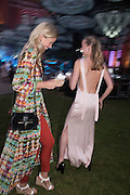 ANYA BARKER; EMILY STEEL, V & A Summer party. South Kensington. London. 22 June 2016