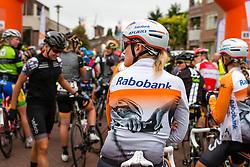 Roxane Knettemann of Rabo Liv Women Cycling Team waiting for the start at the Holland Ladies Tour, Zeddam, Gelderland, The Netherlands, 1 September 2015.<br /> Photo: Pim Nijland / PelotonPhotos.com