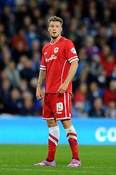 Cardiff City's Anthony Pilkington - Photo mandatory by-line: Dougie Allward/JMP - Mobile: 07966 386802 19/08/2014 - SPORT - FOOTBALL - Cardiff - Cardiff City Stadium - Cardiff City v Wigan Athletic - Sky Bet Championship