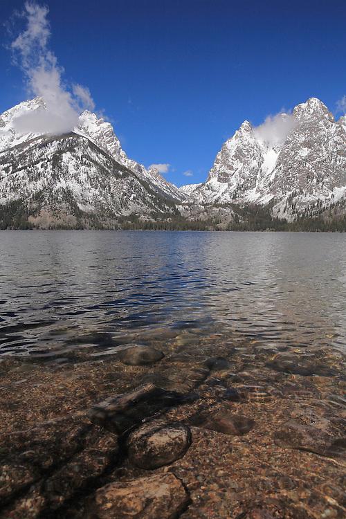 Grand Tetons - South Jackson Lake Waterline, WY