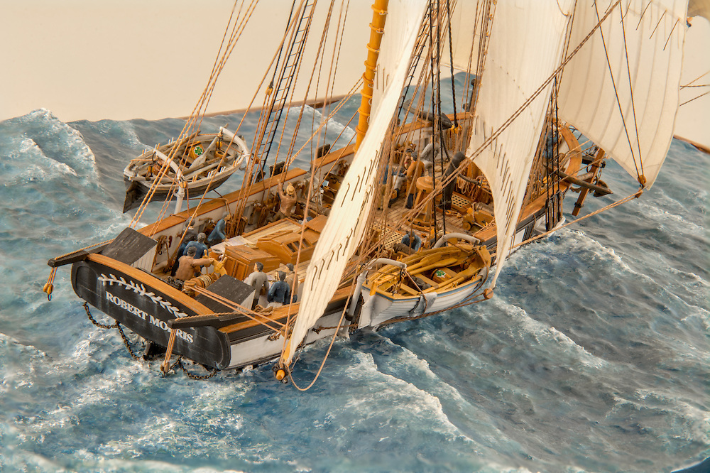 Find out more information about this project and other works by Micro Maritime Art at www.micromaritimeart.com.