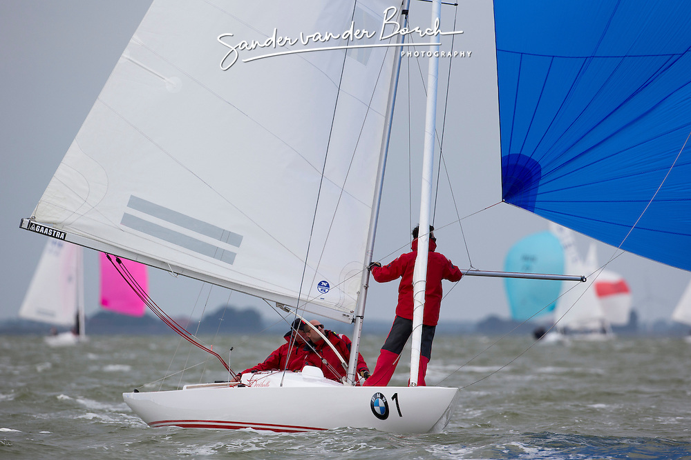 Dragon Gold Cup, Race2, 7-12 September 2014, Medemblik, The Netherlands