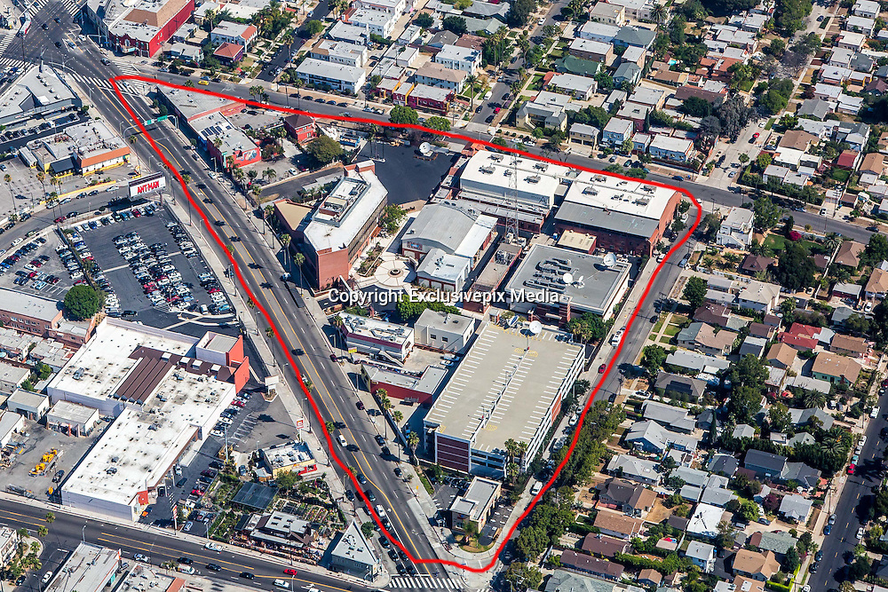 "EXCLUSIVE<br /> Aerial View of the new ""Scientology CNN's"" brand new $50 million Hollywood studio.<br /> <br /> The Church of Scientology is starting a TV news network being dubbed 'Scientology's CNN' in a brand new $50 million Hollywood studio.<br /> And it's being built by being built by 50-cent an hour workers, claim former Scientologists familiar with the project.<br /> While all the buzz last week was that Scientology's biggest star was leaving the church, Daily Mail Online can reveal that nothing could be further from the truth. <br /> Scientology and Tom Cruise plan to take on the major movie studios and the TV networks and cable stations with the creation of Scientology Media Productions on Sunset Boulevard in the heart of Hollywood.<br /> The new studio will also be used to make 'propaganda' movies to recruit more followers while Cruise himself is set to film his Hollywood blockbusters at the glittering base, which has facilities that are set to rival Paramount studios.<br /> ©Exclusivepix Media"