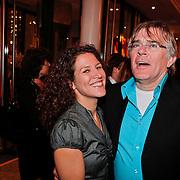 NLD/Den Haag/20110117 - Premiere film Sonny Boy, Evelien de Bruijn en partner Erik