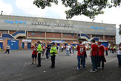 A general view of Hillsborough Stadium before the Sheffield Wednesday game against Bristol City - Mandatory byline: Dougie Allward/JMP - 07966386802 - 08/08/2015 - FOOTBALL - Hillsborough Stadium -Sheffield,England - Sheffield Wednesday v Bristol City - Sky Bet Championship