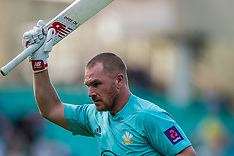 13 Aug 2017 -  Surrey v Sussex Sharks in the NatWest T20Blast cricket match at the Kia Oval.