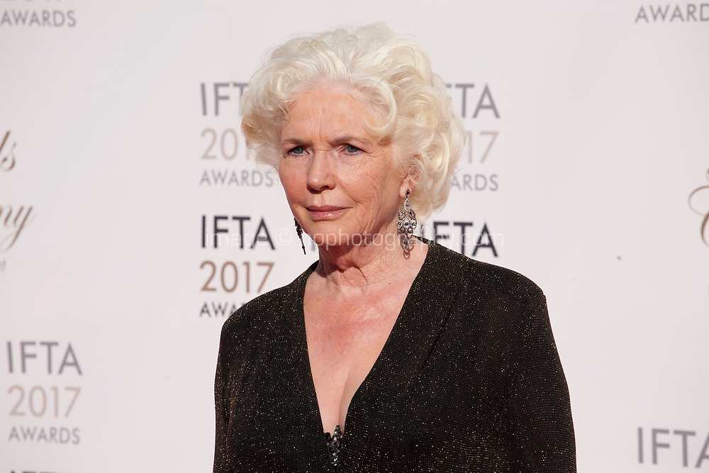 Fionnuala Flanagan at the 2017 IFTA Film & Drama Awards at the Round Room of the Mansion House, Dublin,  Ireland Saturday 8th April 2017.