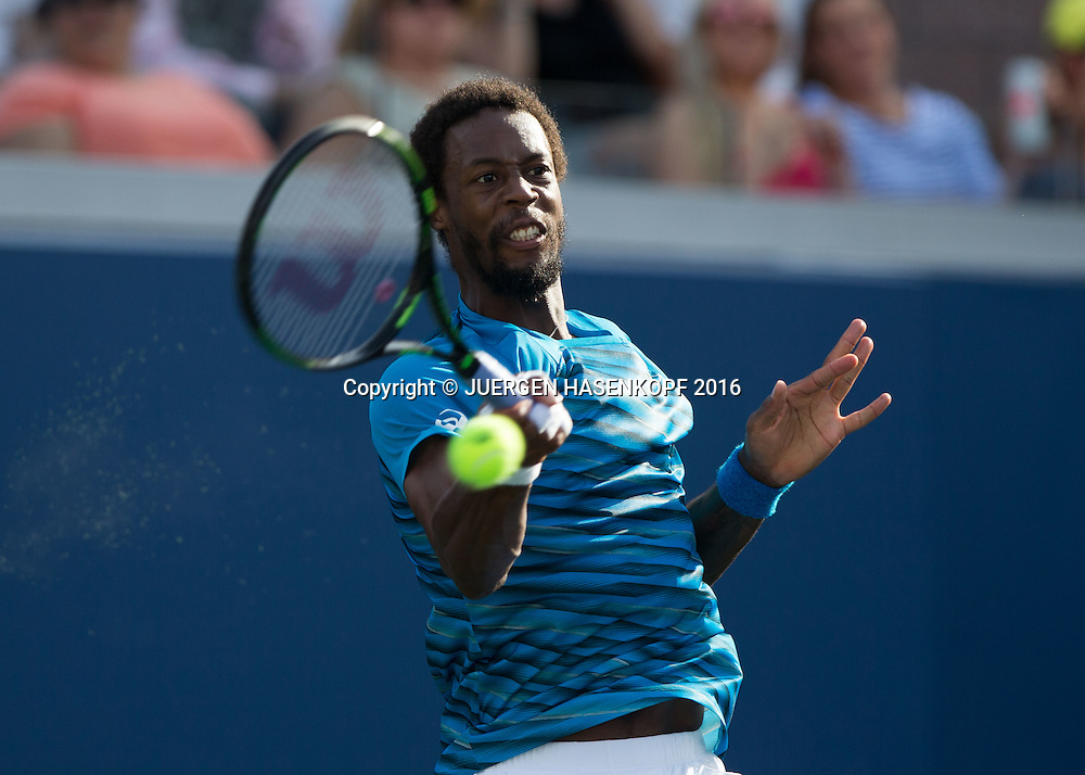 GAEL MONFILS (FRA)<br /> <br /> Tennis - US Open 2016 - Grand Slam ITF / ATP / WTA -  USTA Billie Jean King National Tennis Center - New York - New York - USA  - 2 September 2016.