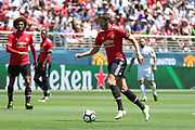 Manchester United Midfielder Michael Carrick during the AON Tour 2017 match between Real Madrid and Manchester United at the Levi's Stadium, Santa Clara, USA on 23 July 2017.