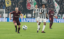 November 22, 2017 - Turin, Piemonte/Torino, Italy - Andres Iniesta (Barcellona FC)  during the Champions League mathc: Juventus FC vs Barcellona FC at the Juventus Stadium. The final scorre is 0-0 Turin, Italy 22th November 2017 (Credit Image: © Alberto Gandolfo/Pacific Press via ZUMA Wire)