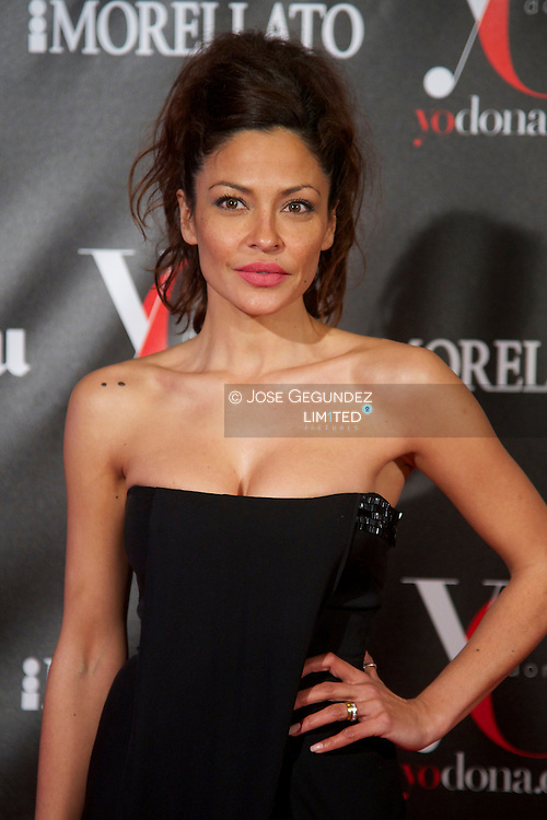 Patricia Perez attends 'Yo Dona' Magazine's Mask Party at Casino on 18 February, 2013 in Madrid