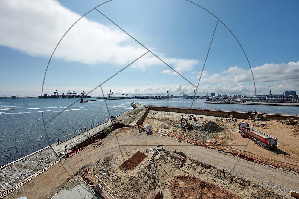 Havneholmen, Aarhus, bygning af nye lejligheder, NCC