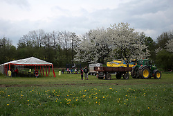 CZECH REPUBLIC VYSOCINA NEDVEZI 9MAY15 - Tractor festival 'Traktoriada' in the village of Nedvezi, Vysocina, Czech Republic. Turnout was surprisingly large with over 100 tractors and hundreds of spectators to this event, held for the second time.<br /> <br /> jre/Photo by Jiri Rezac<br /> <br /> &copy; Jiri Rezac 2015
