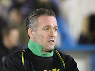 Carlisle - Saturday November 28th, 2009: Paul Lambert, manager of Norwich City during the FA Cup second round match at Brunton Park, Carlisle. (Pic by Andrew Stunell/Focus Images)..