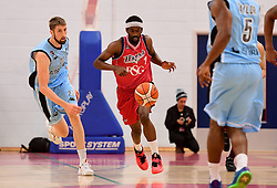 Hameed Ali of Bristol Flyers  - Photo mandatory by-line: Joe Meredith/JMP - 18/11/2016 - BASKETBALL - SGS Wise Arena - Bristol, England - Bristol Flyers v Surrey Scorchers - British Basketball League