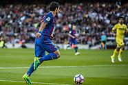 FC Barcelona and Villarreal 6 May 2017