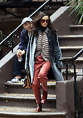 Actress Demi Moore was on the Brooklyn set of the new movie